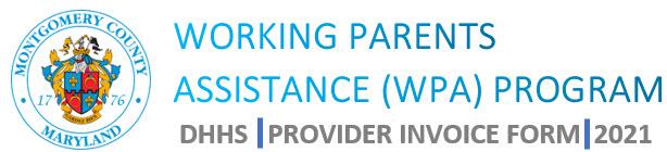 Provider Invoice Form
