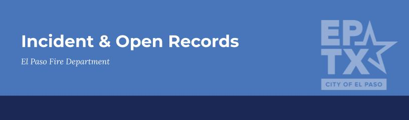 Incident & Open Records
