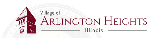 Village of Arlington Heights header